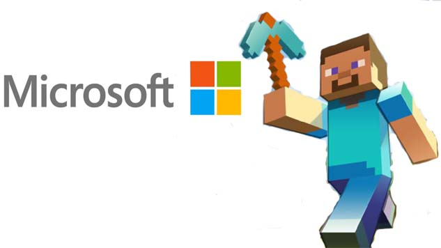 microsoft and minecraft